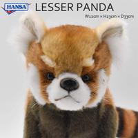 HANSA レッサーパンダ 6309 リアル ぬいぐるみ 動物 愛らしい プレゼント アニマル レッドパンダ