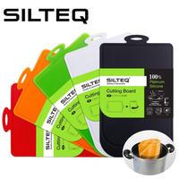 SILTEQ きれいのミカタまな板 きれいのミカタ 丸めて煮沸除菌できるまな板 プラチナシリコーン