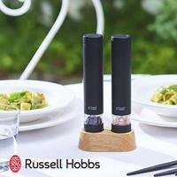 Russle Hobbs 電動ペッパーミル ソルト&ペッパー ミニ ブラック 7932JP-BK ラッセルホブス