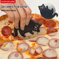KIKKERLAND キャット ラバーズ カッター Cat Lovers Pizza Cutter CU308 ピザカッター 猫グッズ キッチン雑貨 プレゼント