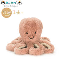 Jellycat ジェリーキャット Ocean Life(オーシャンライフ)たこのぬいぐるみ Babyサイズ Odell Octopus Baby_ODB4OC