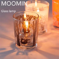 MOOMIN ムーミン グラスオイルランプ オイルランタン ランプ