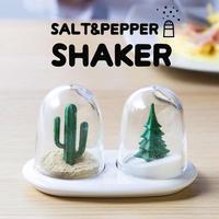 QUALY (クオリー) SALT&PEPPER SHAKER ソルト&ペッパー シェーカー 調味料入れ 塩 こしょう スパイス 卓上 北欧