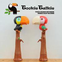 GENIAL ジェニアル Tookie Talkie トゥーキートーキー ボイスレコーダー シャボン玉 マシーン ブラック レッド オオハシ おもちゃ ギフト W85×D115×H315mm