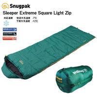 Snugpak スナグパック スリーパー エクストリーム スクエア ライトジップ ダークグリーン 寝袋 シュラフ [快適使用温度-7度] (日本正規品)アウトドア キャンプ 車中泊