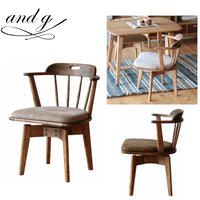 nora.ノラ Loker chair (ローカー) スピンチェア 回転椅子 and g アンジー 関家具