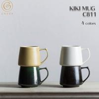 Cores コレス KIKI MUG C811 Series キキマグ マグカップ コーヒーカップ 320ml 日本製 美濃焼 磁器 電子レンジ 食洗器 対応