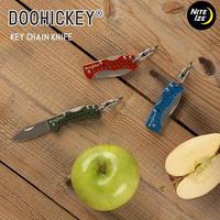NITEIZE ナイトアイズ DOOHICKEY ドゥーヒッキー KEY CHAIN KNIFE キーチェーンナイフ KMTK-R7 日本正規品 アウトドア キャンプ ナイフ