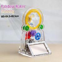 Standing Rainbow Maker レインボーメーカー インテリア クリスタル ソーラーパネル サンキャッチャー 置き型 レインボー 虹 ギフト