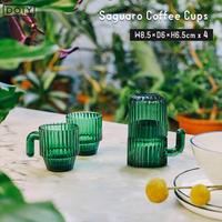 DOIY ドーイ Saguaro Coffee Cups サワロコーヒーコーヒーカップ4個セット サボテン インテリア おしゃれ プレゼント