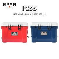 ROVR PRODUCTS ローバー プロダクツ IC35 35QT 33.1L クーラーボックス 大容量 コンパクト 軽量 アウトドア キャンプ BBQ グランピング 海 保冷力抜群