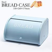 Homestead ローラートップブレッド缶S ブルー パンケース 調味料 収納箱 AXCIS