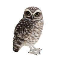 BIRDIE BILL(バーディ ビル)BURROWING OWL アナホリフクロウ【フクロウのオブジェ】