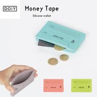 DOIY ドーイ Money Tape マネーテープ 財布 小銭入れ カードケース シリコン レトロ おしゃれ