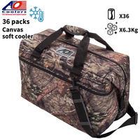 AO Coolers エーオークーラー キャンバス ソフトクーラーバッグ 36パック 軽量 保冷 保証 クーラーボックス 保冷バッグ アウトドアギア