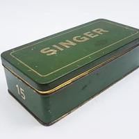 1920~1930's ドイツSINGER社製/ヴィンテージ缶  BD008