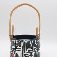1960's ハンガリー コンテンポラリー陶器作品 小物容れ/DK63