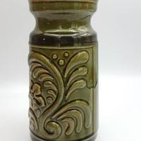 1960~1970's DDR(東ドイツ)製 オリーブグリーンカラーの花瓶