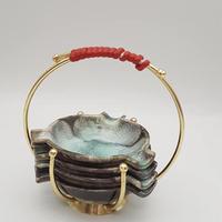 1950's Ü Keramik製 灰皿4枚セット/WK139