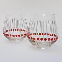 1960's~70's GDR グラス2個セット /GR001
