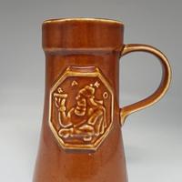 RAKO 陶器製ビアマグ (年代不明) DK032-2