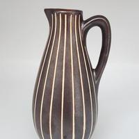 1950's PIESCHE & REIF 東ドイツ Studio Ceramic ズグラッフィート ジャグべース/DK107