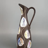 1959 Bay keramik社製 Bodo Mans デザインKongoシリーズ ジャグベース/WK186