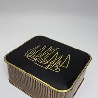 1950's KUHN KAFEEE ブラック×ゴールド ヴィンテージコーヒー缶 /BD018