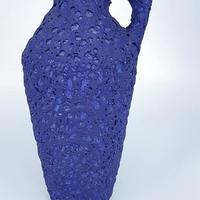 1960's Silberdistel社製 イヴ・クラインブルー ファットラヴァベース/WK079