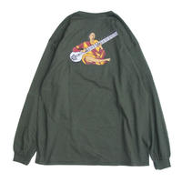 BEDLAM RAVI LONG SLEEVE T-SHIRT <DARK GREEN>