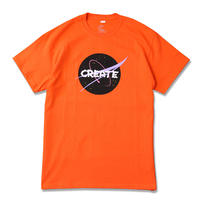 Create Skateboards  NASA T (Orange)