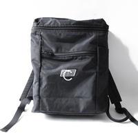 COMA BRAND BACKPACK <Black x White Logo>