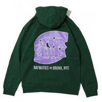 "Stockroom x Rafmatics ""Bronx"" Hoody <Forest Green>"