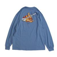 BEDLAM RAVI LONG SLEEVE T-SHIRT <NAVY BLUE>