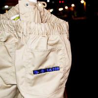 DAN Graphic Logo Easy Work Pants <Beige>Designed by Daniel Tager