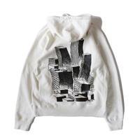 Voyage Society Hooded Sweatshirt <Bone>
