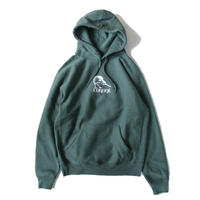 Voyage Kiwi Hooded Sweatshirt <Forest Green>