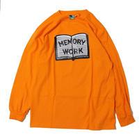 Voyage Memory Work L/SL Tee <Orange>