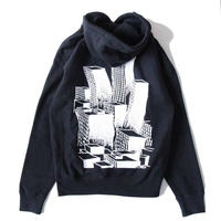 Voyage Society Hooded Sweatshirt <Black>