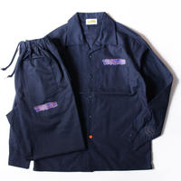 "Stockroom x Rafmatics ""BRONX NAVY"" Shirt&Pants Set Up"