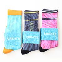 Create Skateboards Tie Dye Socks
