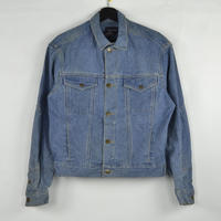 CALVIN KLEIN / DENIM JACKET(USED) COL:INDIGO NO.13