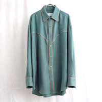 URU TOKYO / WESTERN SHIRTS COL:A.GREEN