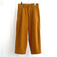 URU TOKYO / BAGGY PANTS COL:COGNAC