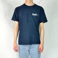 FedEx / S/S LOGO T-SHIRTS(USED) COL:NAVY