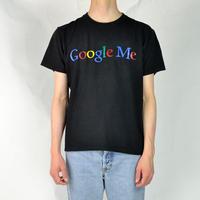 Google / S/S LOGO T-SHIRTS(USED) COL:BLACK