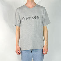CALVIN KLEIN / S/S T-SHIRTS(USED) COL:GREY