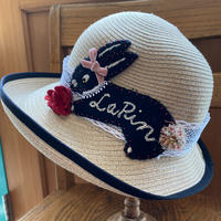 夏帽子 クロウサギ