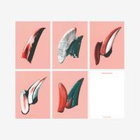 BIENVENUE STUDIOS〈SMALL PRINT COLLECTION_GENTLE KNIFE〉(5PCS)