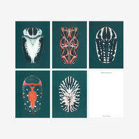 BIENVENUE STUDIOS〈SMALL PRINT COLLECTION_IRIDESCENCE〉(5PCS)